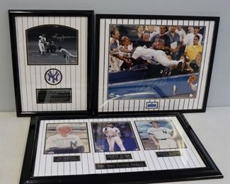 New York Yankees Signed Photographs Steiner