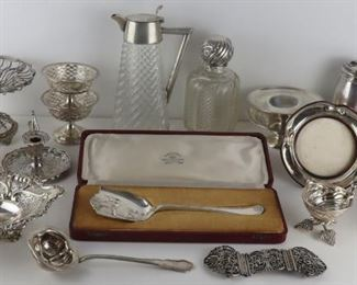 SILVER Assorted English and Continental Silver