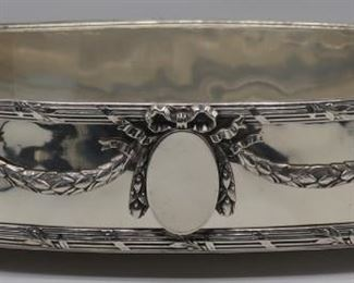 SILVER Christofle French Silver Planter