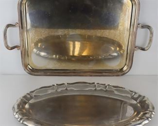 SILVER Continental and Sterling Trays