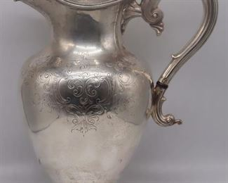 SILVER English Hawksworth Eyre Co Silver Teapot