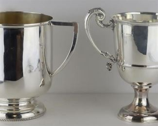 SILVER English Silver Hollow Ware Grouping