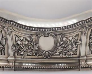 SILVER French Silver Openwork Planter