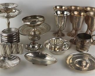STERLING Assorted Silver Hollow Ware