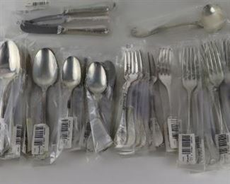 STERLING Pc Christofle Marly Flatware Service