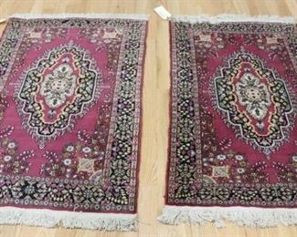 Vintage And Finely Hand Woven Area Carpets