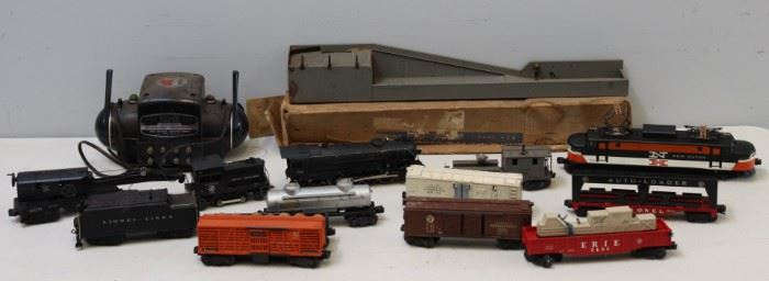 Vintage And Partial Lionel Train Set