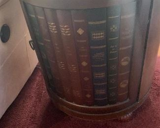 Faux book side tables -- $245 each or Buy both for $450 and save $40!!