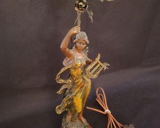Maxim (France) brass lamp