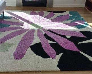 Tufenkian hand dyed rug
