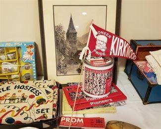 Kirkwood Pioneer's items