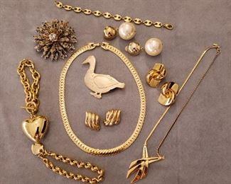 Costume jewelry galore!!!