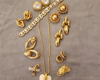 More examples of the costume jewelry