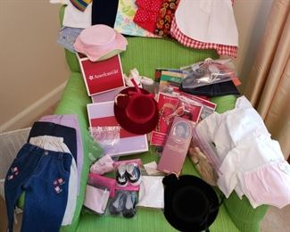 American Girl doll clothing and others brands