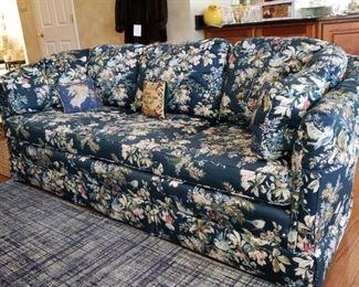 Floral sofa from Pennsylvania House