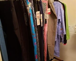 Clothes, Mostly large and Medium sizes and some petites, More pictures to come of shoes and purses