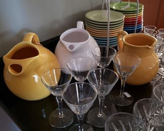 Everyday dishes and glassware