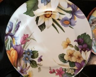 Site Corot Limoges France salad and dinner plates