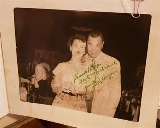Signed Jack Dempsey photo