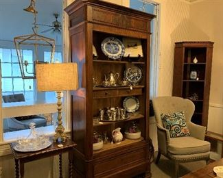 Another Large Open Display Cabinet