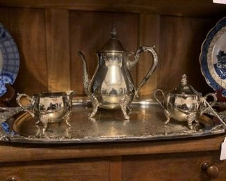 Lots of Beautiful Silver plate!