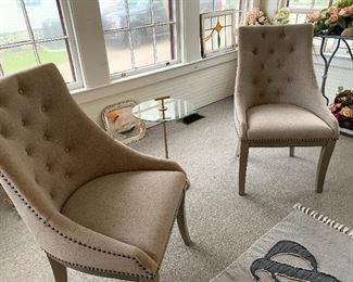 Pair of Custom  Chairs