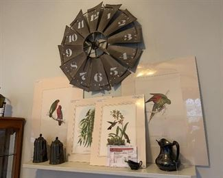 Clock sold only