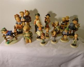 Large Collection of Hummels