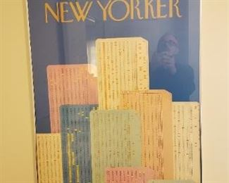 Rare The New Yorker 1979 Cover Poster 38x26 Oanh Pham Phu Galleri 69