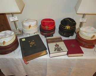 Mason memorabilia and Books