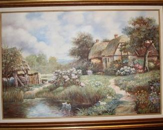 English cottage oil .