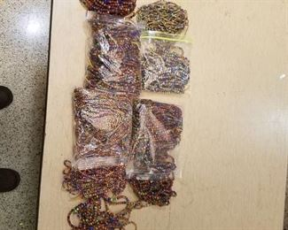 large assortment of beaded strands