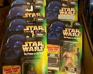 Star Wars figurines new in package