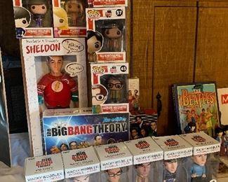 Big Bang Theory Figurines and game