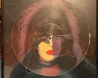 KISS Paul Stanley portrait record album