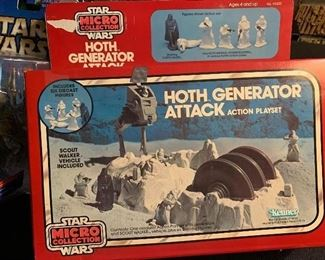 Hoth Generator Attack action playset