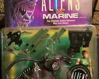 Aliens Vs Marine; Vasquez vs. Night Cougar Alien