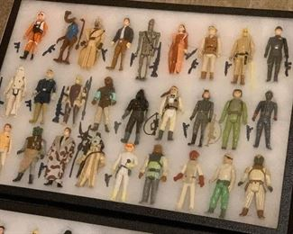 Star Wars Figurines includes the first 12 that were produced! Also includes all their weapons.