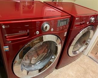 One Year old Washer and Dryer