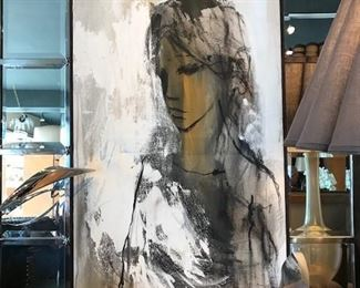 Gino Hollander original acrylic