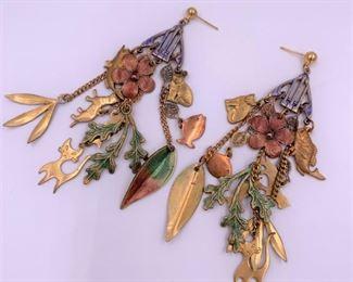 Fun costume jewelry earrings