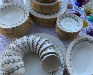 Minton china set