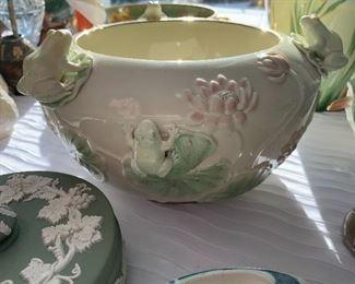 Lenox frog bowl