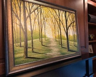 Original acrylic on canvas, Amy Giacomelli.