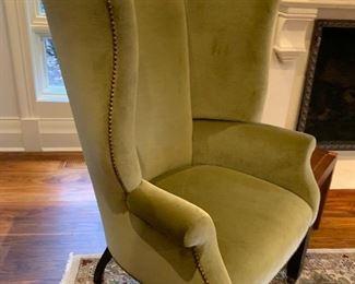 John Boone wing chair.