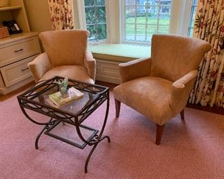 Stickley chairs.