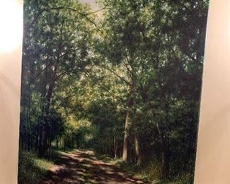 Original Pamela Hart painting on canvas. Stunning!