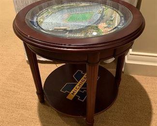 Michigan stadium table.