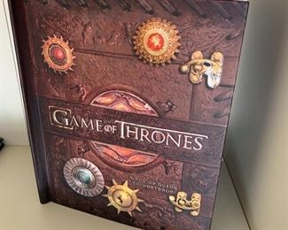 Game of Thrones pop up book.
