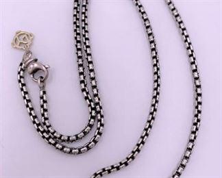 David Yurman necklace chain.